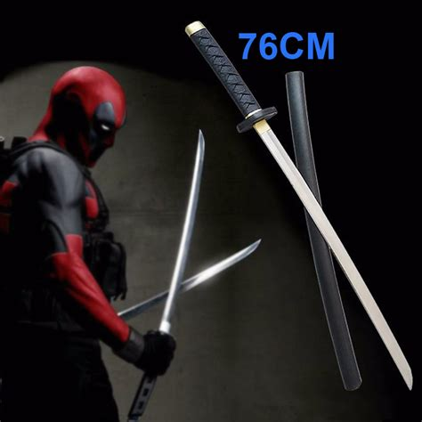 Figure Weapon Set Sword 2 76cm marvel comics deadpool sword deadpool figure