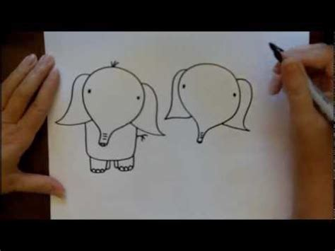 how to draw an elephant step by step easy beginner