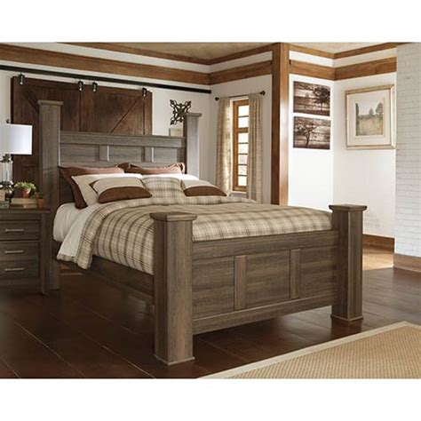 ashley juararo  piece queen bedroom set  rent