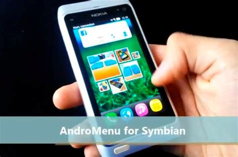 nokia touch nokia n8 applications symbianapps andromenu for symbian on nokia n8 drippler