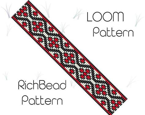 bead loom flower patterns 4259 best krosno images on loom beading bead