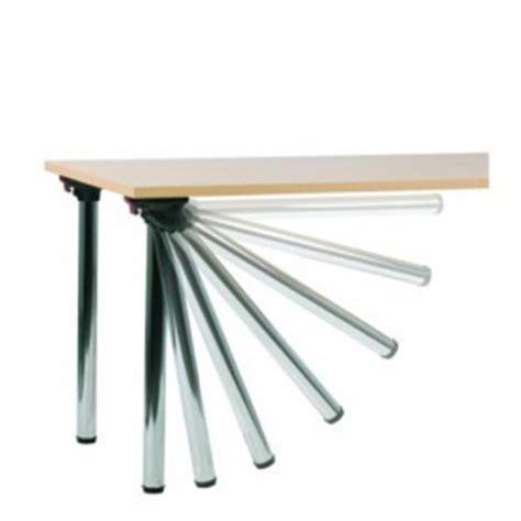 gambe per tavoli pieghevoli gambe pieghevoli per tavolo flexa set 4 pezzi