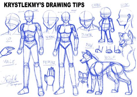 Drawing Tips by Lili And S Site Beta