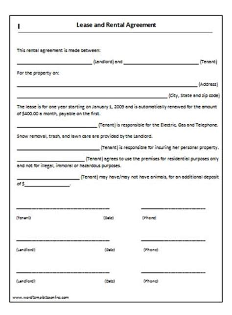 written agreement template written agreement template free printable documents