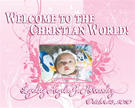 layout design maker for tarpaulin invitation tarp lyndsay angela baptismal filipino