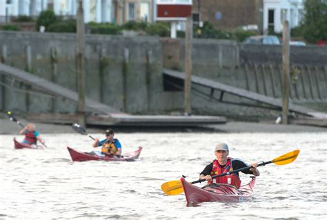 river thames kayak licence port of london s vulnerable river users caign canoe