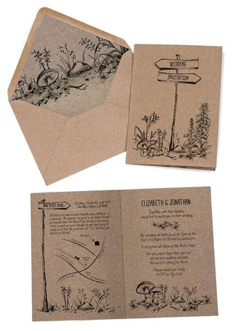 wedding invitations woodland wedding invitation rustic woodland forest invitation