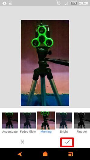 tutorial efek snapseed cara mencerahkan foto yang gelap menggunakan android