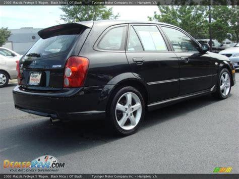 2003 mazda protege wagon 2003 mazda protege 5 wagon black mica black photo 5