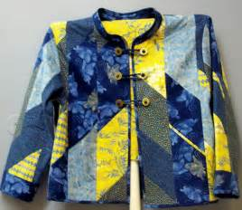 quilted sweatshirt jacket wearable
