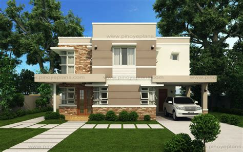 modern hosue modern house design series mhd 2012006 eplans