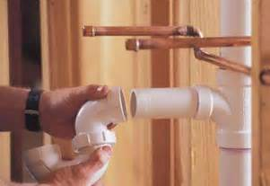 Install Plumbing How To Install New Plumbing