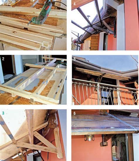tettoia in legno fai da te tettoia fai da te legno 7 foto descritte passo passo e