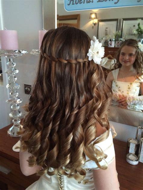 Wedding Hairstyles By Esther Kinder by 21 Beste Idee 235 N Communie Kapsels Op