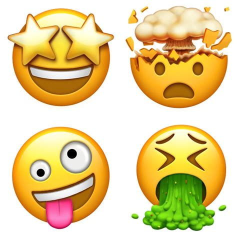 emoji en imagenes estos son los nuevos emojis que llegar 225 n al iphone clipset