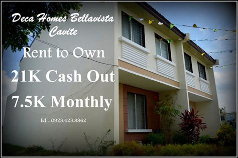 cheap house and lot for sale in cavite deca homes