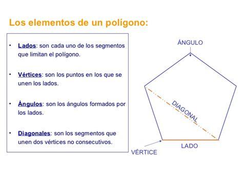 figuras geometricas lados vertices y angulos los poligonos