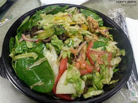 subway salad happy being healthy