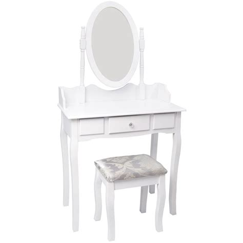 Dresser With Mirror And Stool by Nishano Dressing Table 1 Drawer Stool White Mirror Bedroom