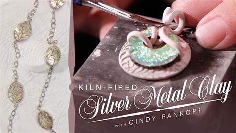 how to make silver clay jewelry how to make kiln fired silver metal clay jewelry