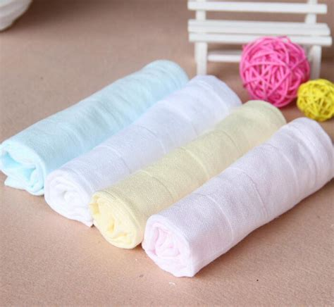 1 pc 100 cotton solid color soft baby mattress cover fitted 30 pcs 100 cotton muslin cloth grid soft baby face towel