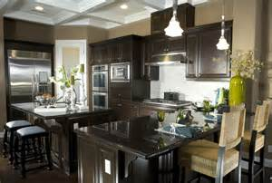 Eat Island Kitchen kitchen islands one of which is at standard counter height and