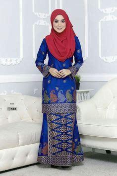 Ss Dress Brukat Sari baju kurung moden kain songket fesyen trend terkini