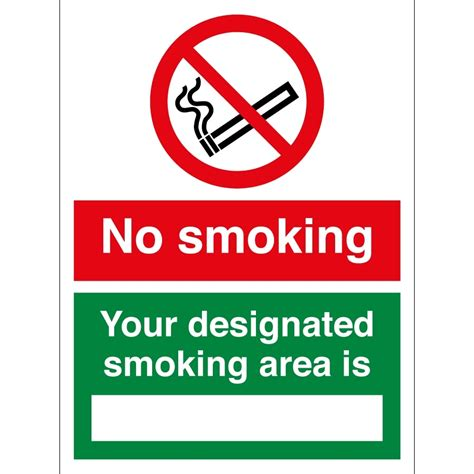 no smoking sign ai no smoking your designated smoking area is signs from
