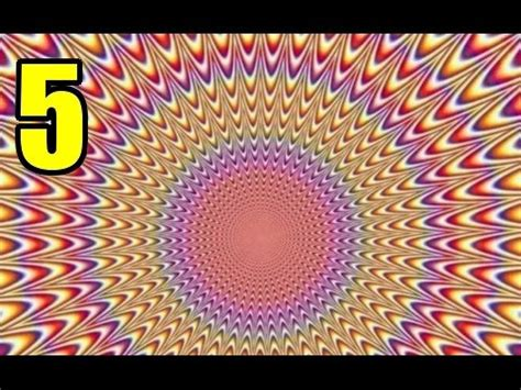 Iluciones Opticas Increibles | 5 increibles ilusiones opticas youtube
