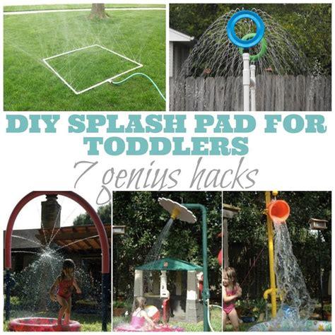 backyard splash pad diy best 25 splash pad ideas on pinterest splash pad near