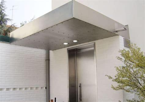 tettoia acciaio pensiline acciaio inox pergole tettoie giardino