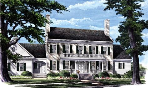 colonial farmhouse plans colonial tobacco plantation colonial southern plantation