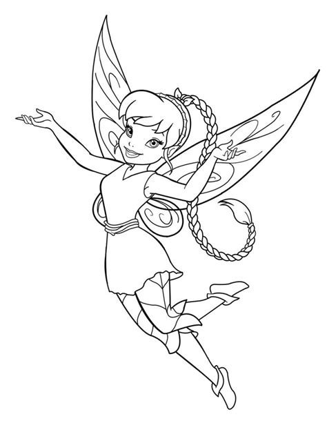 coloring page of fairy free printable disney fairies coloring pages for kids