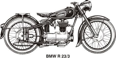 Motorrad Chopper Arten by Clipart Bmw R25 3 Year 1953