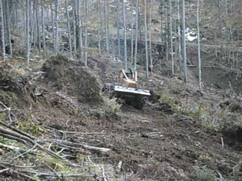 clark f667 cable skidder youtube