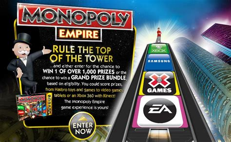 Monopoly Instant Win Game - the monopoly empire instant win game sweeps