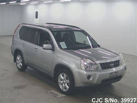 2009 Nissan X Trail 2009 nissan x trail silver for sale stock no 39927