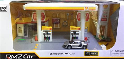 Diorama Mechanics Corner Series 1 Vintage Gas Station Texaco By Gl rmz city 1 64 shell service gas station diorama playset for tomica choro q ebay