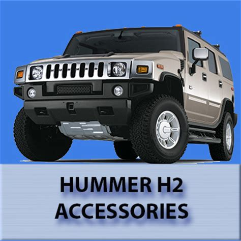 accessories for h2 hummer hummer h2 parts accessories