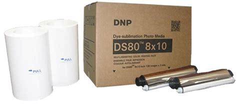 Paper Media Dnp Ds80 8x10 130 Lembar dnp ds80 dye sublimation photo media
