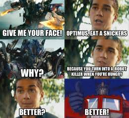 Snickers Meme - optimus prime snickers snickers quot hungry quot commercials