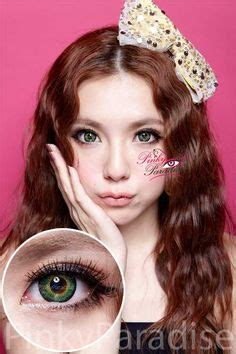g&g queenie royal green circle lenses (colored contacts