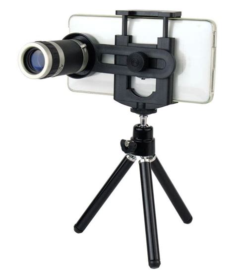 Lensa Telescope Zoom 8x Clip Lens Jarak Jauh like 8x zoom mobile telescope with tripod available at snapdeal for rs 699