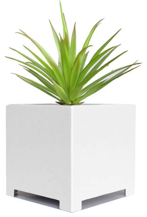 large white indoor planter alora cube planter contemporary indoor pots and