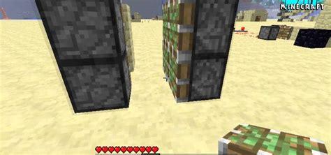 Minecraft Secret Trap Door by How To Use Pistons To Build A Secret Door In Minecraft