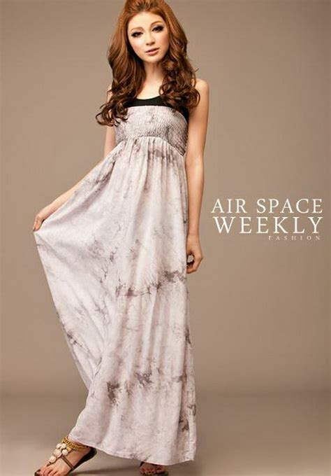 air space weekly fashion trend maxi dress   girls beauty salon
