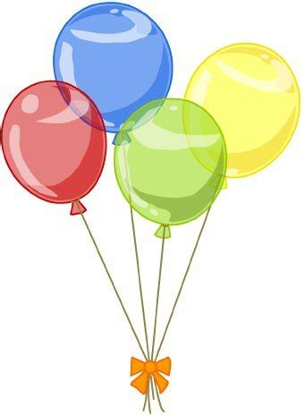 Birthday balloons balloons free birthday balloon clip art clipart images 3 clipartix
