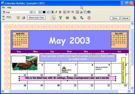 Calendar Builder Calendar Builder Indir Tr Chip Eu