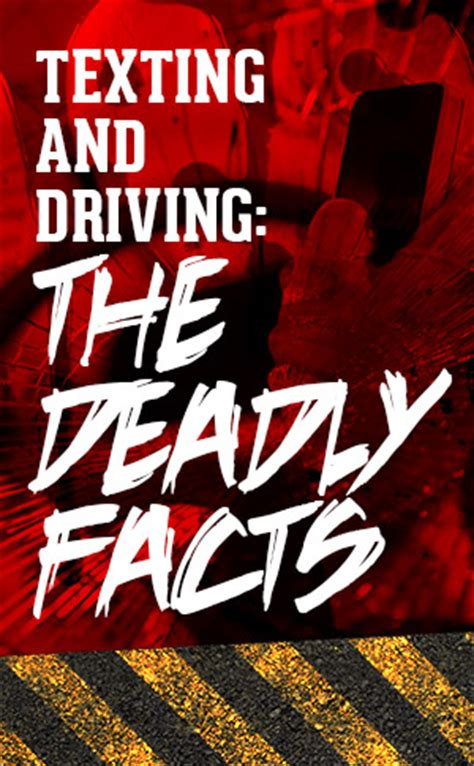infographic: the deadly facts about texting and driving