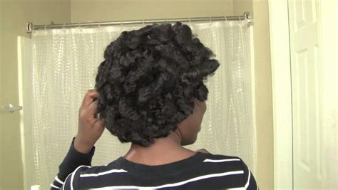 wet set 4c hair 4c hair solution roller set curls no rollers youtube